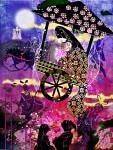 川口きくえ様 作品「かぐや姫と一緒にお月見さんぽ」